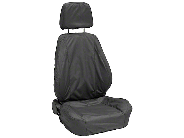 Corbeau Sport Seat Saver; Black (79-21 All)