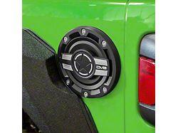 DV8 Offroad Aluminum Fuel Door (18-21 Jeep Wrangler JL)