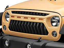 Mohave Grille; Unpainted (07-18 Jeep Wrangler JK)