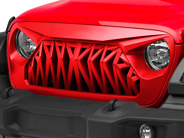 Inyo Grille; Unpainted (20-21 Jeep Gladiator JT)