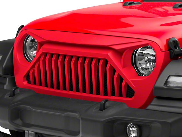 Wildcat Grille; Unpainted (20-21 Jeep Gladiator JT)