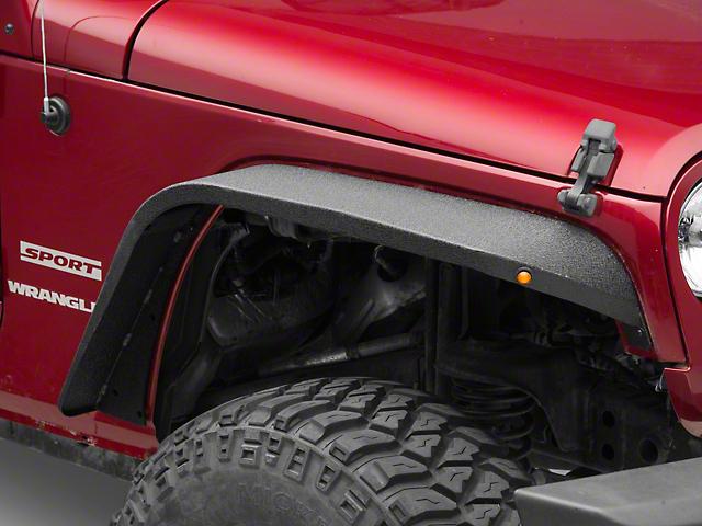 Barricade Slim Fender Flares (07-18 Jeep Wrangler JK)