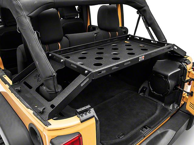 Fishbone Offroad Interior Storage Rack (07-18 Jeep Wrangler JK 4 Door)