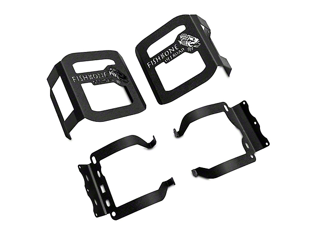 Fishbone Offroad Tail Light Guards (18-21 Jeep Wrangler JL w/o Factory LED Tail Lights)