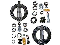 Revolution Gear & Axle Dana 30 Front Axle/35 Rear Axle Ring and Pinion Gear Kit with Master Overhaul Kit; 4.56 Gear Ratio (18-21 Jeep Wrangler JL, Excluding Rubicon)