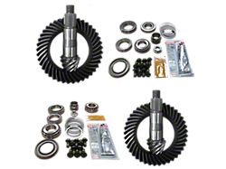 Revolution Gear & Axle Dana 44 Front Axle/44 Rear Axle Ring and Pinion Gear Kit with Master Overhaul Kit; 5.38 Gear Ratio (20-22 Jeep Gladiator JT Launch Edition, Rubicon)