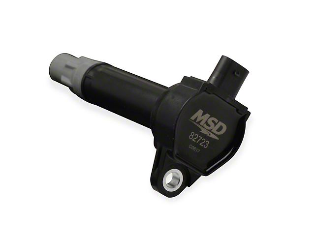 MSD Blaster Series Ignition Coil; Black (09-10 3.5L)