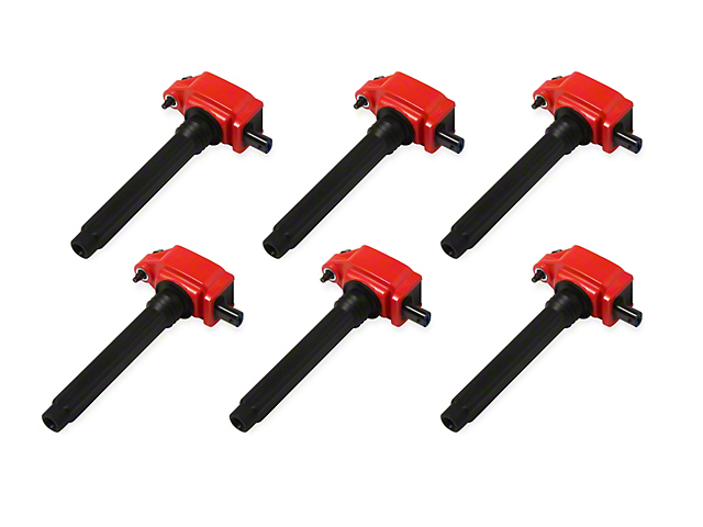 MSD Blaster Series Ignition Coils; Red (11-16 3.6L)