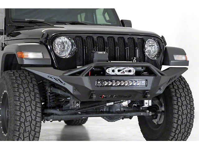 Addictive Desert Designs Stealth Fighter Full Length Winch Front Bumper (20-21 Jeep Gladiator JT, Excluding Launch Edition, Mojave & Rubicon)