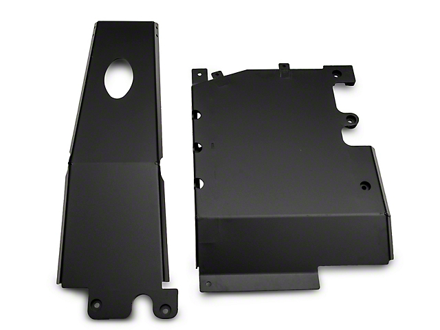 Rough Country Engine and Transfer Case Skid Plate System (18-21 3.6L Jeep Wrangler JL 4 Door)