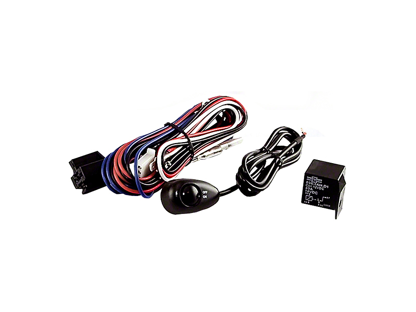 Rugged Ridge Wiring Harness for Two Off-Road Fog Lights (87-20 Jeep Wrangler YJ, TJ, JK & JL)