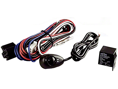 Rugged Ridge Wiring Harness for Two Off-Road Fog Lights (87-18 Wrangler YJ, TJ & JK)
