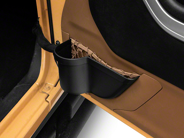 Alterum Door Panel Storage Organizer Tray (07-18 Jeep Wrangler JK)