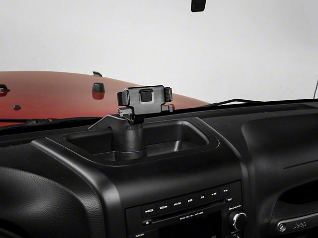 Alterum Multi-Function Dash Organizer with Phone Mount (07-18 Jeep Wrangler JK)