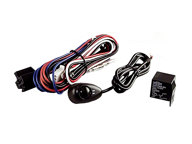 Rugged Ridge Wiring Harness for Three Off-Road Fog Lights (87-18 Jeep Wrangler YJ, TJ, JK & JL)