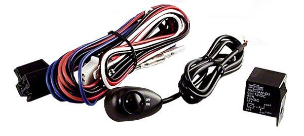 rugged ridge wiring harness for three off road fog lights (87 20 jeep wrangler yj, tj, jk \u0026 jl) 3 Off Road Light Wiring Harness 3 off road light wiring harness swift
