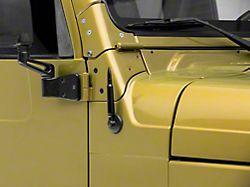 RedRock 4x4 Billet Aluminum Bullet Style Antenna (97-06 Jeep Wrangler TJ)