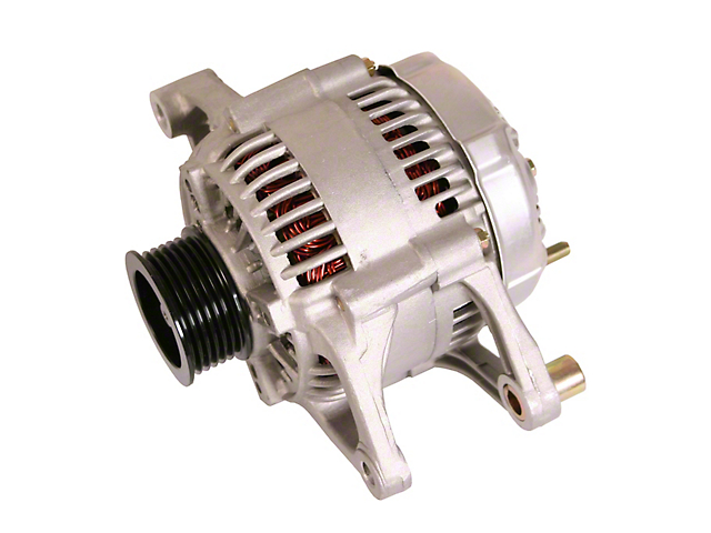 Alternator; 117 Amp (01-06 4.0L Jeep Wrangler TJ)
