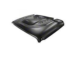 DV8 Offroad Rubicon Replica Hood; Unpainted (18-21 Jeep Wrangler JL)