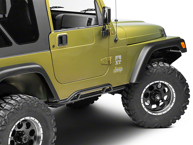 Olympic 4x4 X-treme Reverse-a-Bars - Textured Black (97-06 Jeep Wrangler TJ, Excluding Unlimited)