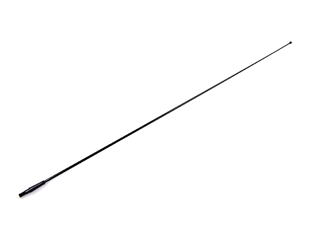 Factory Style Fixed Antenna Mast - Black (87-95 Jeep Wrangler YJ)