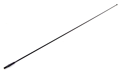 Omix-ADA Factory Style Fixed Antenna Mast - Black (87-95 Wrangler YJ)