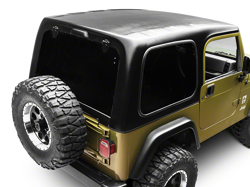 Smittybilt 1-Piece Hardtop w/o Upper Doors - Textured Black (97-06 Jeep Wrangler TJ, Excluding Unlimited)