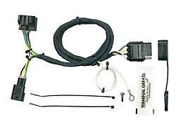 Plug-In Simple Vehicle to Trailer Wiring Harness (98-04 Jeep Wrangler TJ)