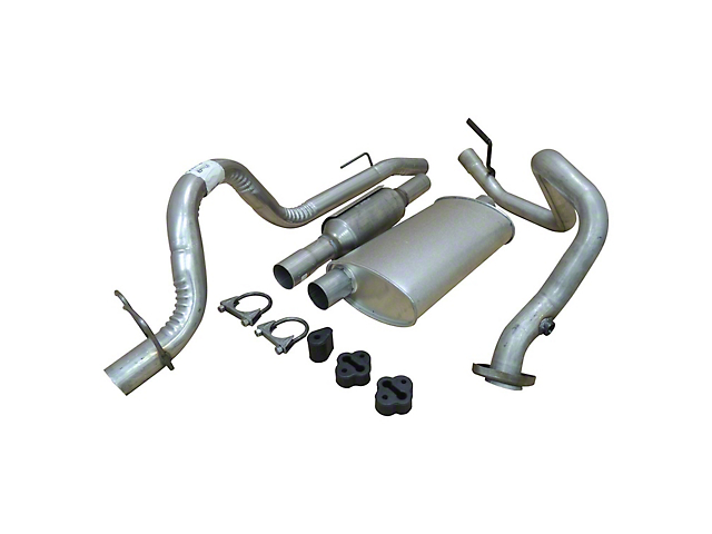 Cat-Back Exhaust System (93-95 2.5L Jeep Wrangler YJ)