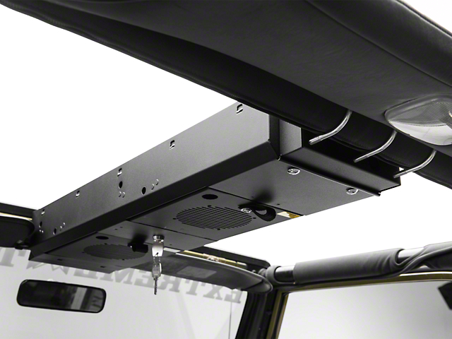 Tuffy 2 Compartment Overhead Security Console (87-02 Wrangler YJ & TJ)