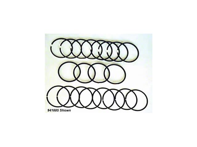 Jeep Wrangler Piston Ring Set STD. 6 CYL 4.0 (87-93 2.5L