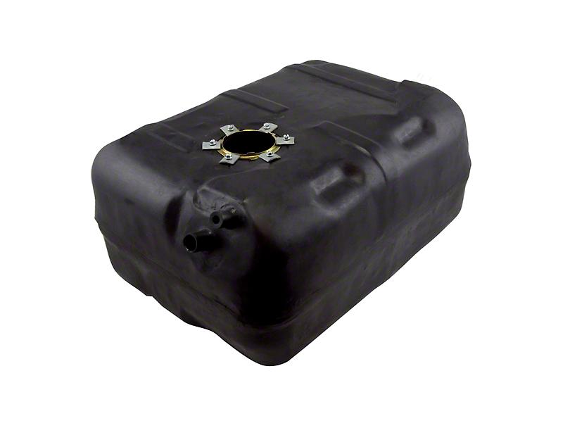 Omix-ADA Plastic Gas Tank - 15 Gallon (87-90 2.5L or 4.2L Jeep Wrangler YJ)