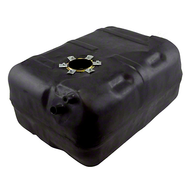 Omix-ADA Plastic Gas Tank - 15 Gallon (87-90 2.5L or 4.2L Jeep Wrangler YJ)