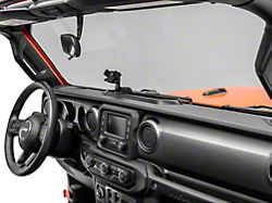 Alterum Dash Mounted Phone Holder with Storage Compartment (18-21 Jeep Wrangler JL)