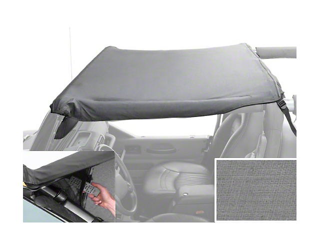 Rugged Ridge Pocket Brief - Gray (92-95 Jeep Wrangler YJ)
