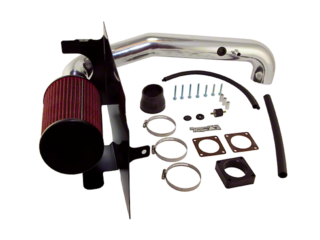 Rugged Ridge Polished Aluminum Cold Air Intake (03-06 2.4L Jeep Wrangler TJ)