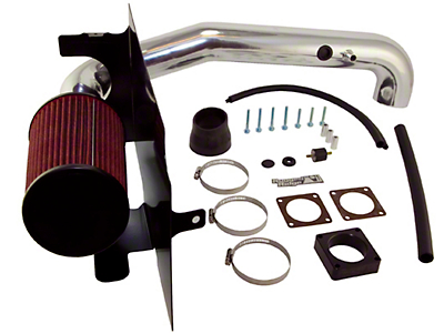 Rugged Ridge Polished Aluminum Cold Air Intake (03-06 2.4L Wrangler TJ)
