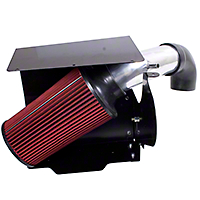 Rugged Ridge Polished Aluminum Cold Air Intake (91-95 4.0L Jeep Wrangler YJ)