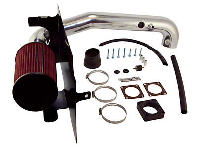 Rugged Ridge Polished Aluminum Cold Air Intake (97-06 4.0L Jeep Wrangler TJ)