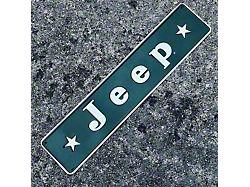 Vintage Stars Jeep Logo Sign