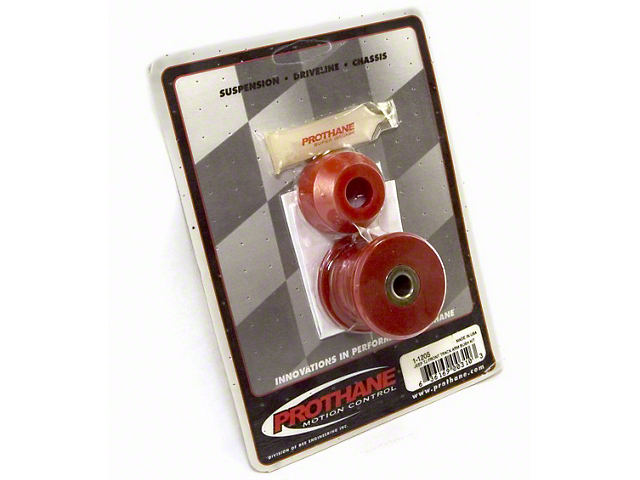 Rugged Ridge Front Track Bar Bushing Kit; Red (97-06 Jeep Wrangler TJ)