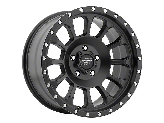 Pro Comp Wheels Rockwell Satin Black Wheel; 17x8.5 (18-21 Jeep Wrangler JL)