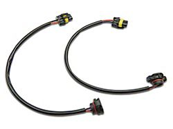 Fog Light Adapter Harness; Plug-N-Play (07-21 Jeep Wrangler JK & JL)