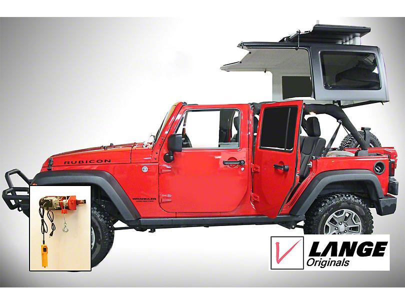 Lange Power Hoist-a-Top (2018 Jeep Wrangler JL)