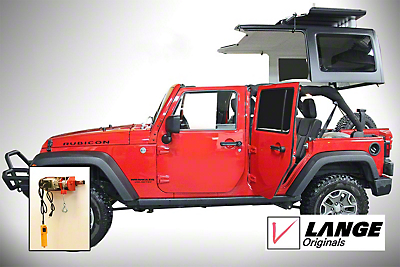 Lange Power Hoist-a-Top (2018 Jeep Wrangler JL)