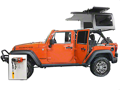 Lange Power Hoist-a-Top (07-18 Wrangler JK; 2018 Wrangler JL)
