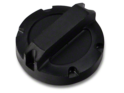 Rugged Ridge Billet Aluminum Power Steering Cap - Black (07-11 Wrangler JK)
