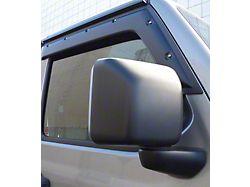 Tough Guard FormFit Window Visors; Front (20-22 Jeep Gladiator JT)
