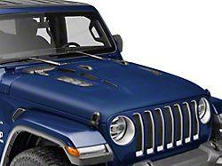 MP Concepts Thanos Hood; Unpainted (18-21 Jeep Wrangler JL)