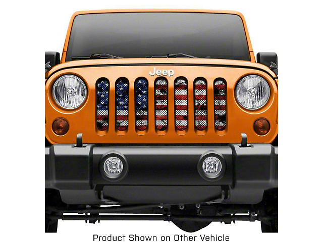 Grille Insert; Dirty Grace (20-21 Jeep Gladiator JT)